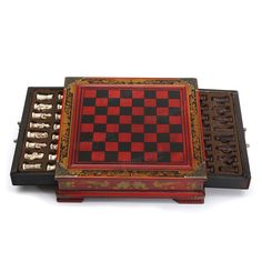 Ajedrez chino 32pcs/set resina con regalo de coleccionismo vintage de mesa de madera de café Venta - Banggood.com