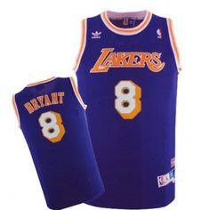 1ceaf73fb1d4 Mens Los Angeles Lakers Kobe Bryant 1996-1997 Adidas Purple Hardwood  Classics Swingman Jersey