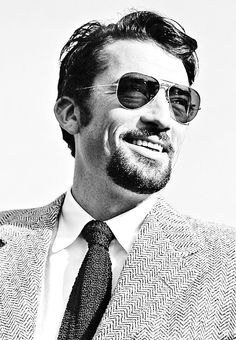 """Gregory Peck looking very """"hipster-chic"""", 1948."""