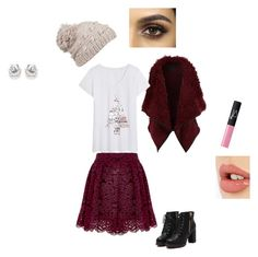 """""""winter set"""" by sarah1067135 ❤ liked on Polyvore featuring Alice + Olivia, LE3NO, prAna, NARS Cosmetics and Charlotte Tilbury"""