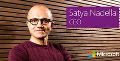 Satya Nadella-CEO, Microsoft