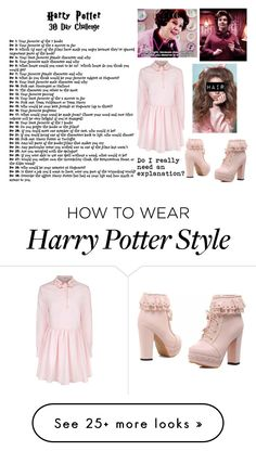 """Harry Potter 30 Day Challenge// Day 4- Dolores Umbridge"" by mamaloser1 on Polyvore featuring VIVETTA"