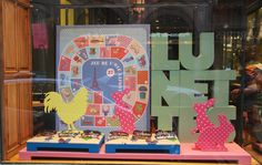 The April 2013 boutiques lafont window display