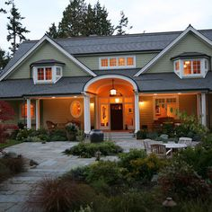 Small House Front Porch Design Ideas, Pictures, Remodel, and Decor - page 9
