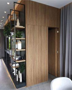 72 Stylish Homes With Modern Interior Design 15 - myhomeorganic Home Room Design, Interior Design Living Room, Living Room Designs, Modern Interior Design, Interior Architecture, Apartment Interior, Office Interiors, Door Design, Home Living Room