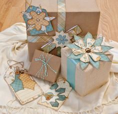 On the 9th Day of Christmas, the Kiwi Crew Gave to Me—Gift Wrapping Ideas! | Kiwi Lane Designs