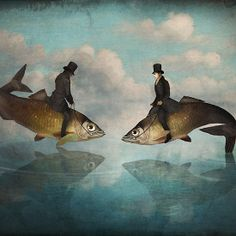 'The Fishpond' , made by: ChristianSchloe - (Fish on a leash)