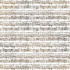 Stamperia papel arroz 50x50 14g DFT248 partitura musical