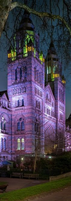 Natural History Museum ~ London, England - The Museum is a world-class visitor…