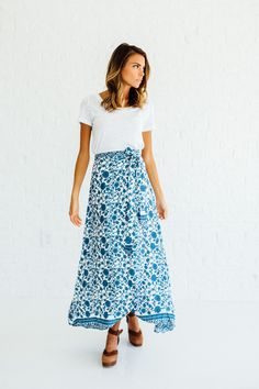 By the Seaside Skirt // Clad & Cloth