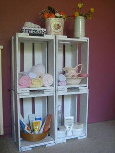 Pallets e Caixotes para decoração! « Artesanato & Humor de Mulher