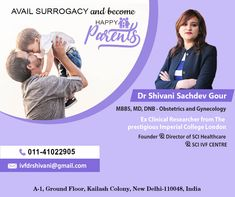 Get OFF up to on your Booking through us at Dr Shivani Sachdev Gour clinic. She is an IVF Specialist that has more than of experience. Art Fertility, Fertility Center, Imperial College, Obstetrics And Gynaecology, Happy Parents, Infertility Treatment, Thing 1, Surrogacy, Female Doctor