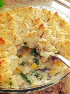 Chicken Pot Pie, Biscuit Style