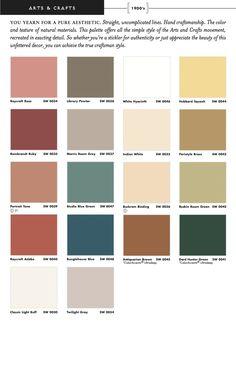 Arts Crafts Interior Paint Colors Around The House - Arts and crafts interior paint colors