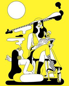 Illustration by Simon Landrein