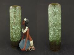 Seltene Vintage Keramik Vase / Jopeko / Modell 6 25   West German Pottery   60er von ShabbRockRepublic auf Etsy
