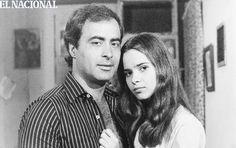 """Carlos Olivier y Grecia Colmenares en una escena de la telenovela """"Rosalinda"""". Caracas, 1980. (ARCHIVO EL NACIONAL)"""
