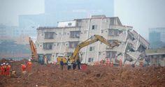 Responsável por fiscalização em área de deslizamento na China comete suicídio - Infotau