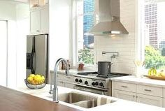Super Windowless Kitchen Sink Ideas Designs Or 26 Design Photos - bedhome. Blue Kitchen Tiles, Kitchen Collection, Corner Sink Kitchen, Urban Kitchen, Kitchen Handles, White Kitchen Tiles, Kitchen Sink Design, Modern Kitchen Tiles, Pot Filler Faucet