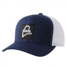 c2861120d9c0f FishME Patch Trucker Hat