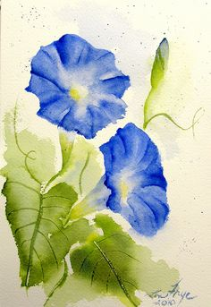 Flowers in Watercolor - a gallery on Flickr