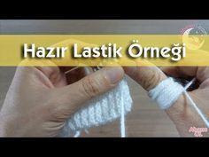 Hazır Lastik Örgü Modeli #örgü #bebek #hırka #knitting #battaniye - YouTube