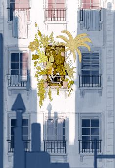 Pascal Campion — A Little Spot of Sunshine, 2017 Art Inspo, Kunst Inspo, Art And Illustration, Image Deco, Pascal Campion, Art Mignon, Aesthetic Art, Cute Art, Amazing Art