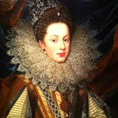 Marguerite of Savoy ~ 1608 ~ Frans Pourbus the Younger (Flemish, 1569-1622) ~ The Hermitage, Amsterdam