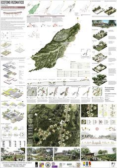 Plan has 2 - Econo aRizomático / Convive IX Architecture Panel, Architecture Graphics, Architecture Portfolio, Architecture Background, Landscape And Urbanism, Landscape Architecture Design, Landscape Architects, Urban Architecture, Project Presentation