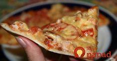 Toto je najlepšie cesto na pizzu, tajomstvo jeho chuti a konzistencie spočíva v obyčajnom bielom gurte, ktorý som predtým vôbec nepoužívala, no teraz viem, že vždy ho musím mať v chladničke, keď chceme robiť pizzu. Skúste, naozaj je fantastické! Potrebujeme (na 8 kusov s priemerom 30 cm): 1,2 kg hladká múka 1 balenie čerstvého droždia... Hawaiian Pizza, Superfoods, Lasagna, Italian Recipes, French Toast, Margarita, Food And Drink, Meals, Quiche