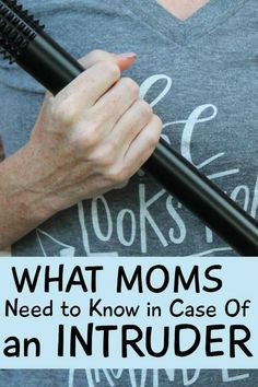 what moms need to know in case of an intruder. Mothers who are at home with their kids need to read this regardless of whether they have a safety plan or a home security system.