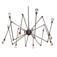 What a fun fixture. Could see this in a industrial boys room with an insect/spider theme.