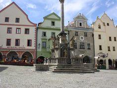Cesky Krumlov square