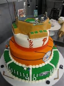 philadelphia sports cake