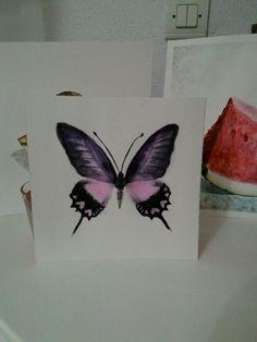 butterfly watercolor Butterfly Watercolor, Leaf Tattoos