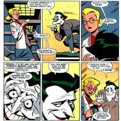 harley before she was harley. I just want all the comic books. Please?