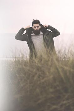 Things that I like: this bearded fellow (Chris John Millington) and foggy low-contrast days.