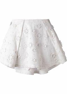 Vanessa Bruno Athe clara skirt white