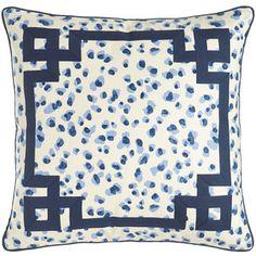 Jane Wilner Designs Ellie Leopard-Spot Pillow