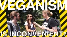 VEGANS CONFRONT VEGETARIANS IN THE STREET! Is Veganism an Inconvenience?