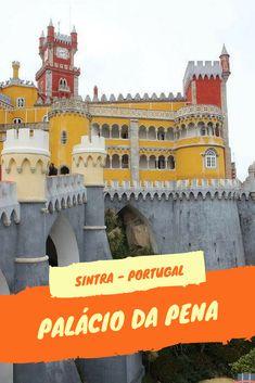 O Palácio da Pena é uma obra que marca o romantismo em Portugal e que tem uma mistura de estilos que lhe dá um aspecto inconfundível.  #portugal #palaciodapena #sintra #aprontandoasmalas Sintra Portugal, Spain And Portugal, Asia, Portugal Travel, Eurotrip, Amazing Destinations, Travel Inspiration, Travel Tips, Places To Visit