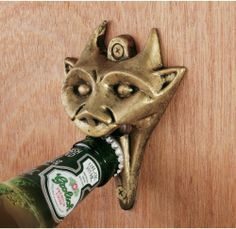 Authentic Gargoyle Bottle Opener in Antique Brass by Design Toscano, http://www.amazon.com/dp/B001REBQRO/ref=cm_sw_r_pi_dp_GGJorb16H5Y7Y