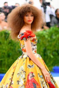 Zendaya met gala look gown fashion 2017