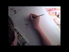 Watercolor Speed Painting More Art Videos At: http://ArtVideosDaily.com/?p=961