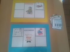 Recursos para Docentes: Las profesiones Job 3, 3 Year Olds, Ideas Para, Homeschool, Projects To Try, Teacher, Frame, Puzzles, Classroom Ideas