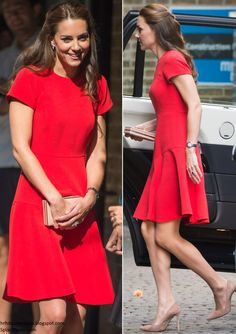 Duchess Kate: The Duke and Duchess of Cambridge Visit YoungMinds Helpline Service