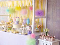 Little Big Company   The Blog: Fairy Floss Pastel Baby Shower by Sugar Coated Mama