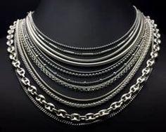0e04e8eee35c Tipos de cadenas de plata. Cadenas para hombre y cadenas para mujer.  Cientos de modelos a precios muy bajos. Cómo limpiar y cuidar tus cadenas.