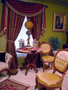 Victorian parlor                                                                                                                                                                                 More