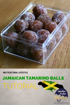 As a child living in the Caribbean, making Jamaican tamarind balls was something that I enjoyed. So, I wanted to introduce our kids to the fruit and give them a quick lesson on how to make it.